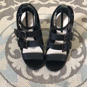 ZARA Black Chunky Heels